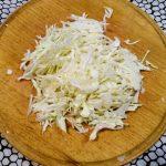 """Фото рецепта - Вегетарианский борщ """"Три капусты"""" с яблоком - шаг 1"""
