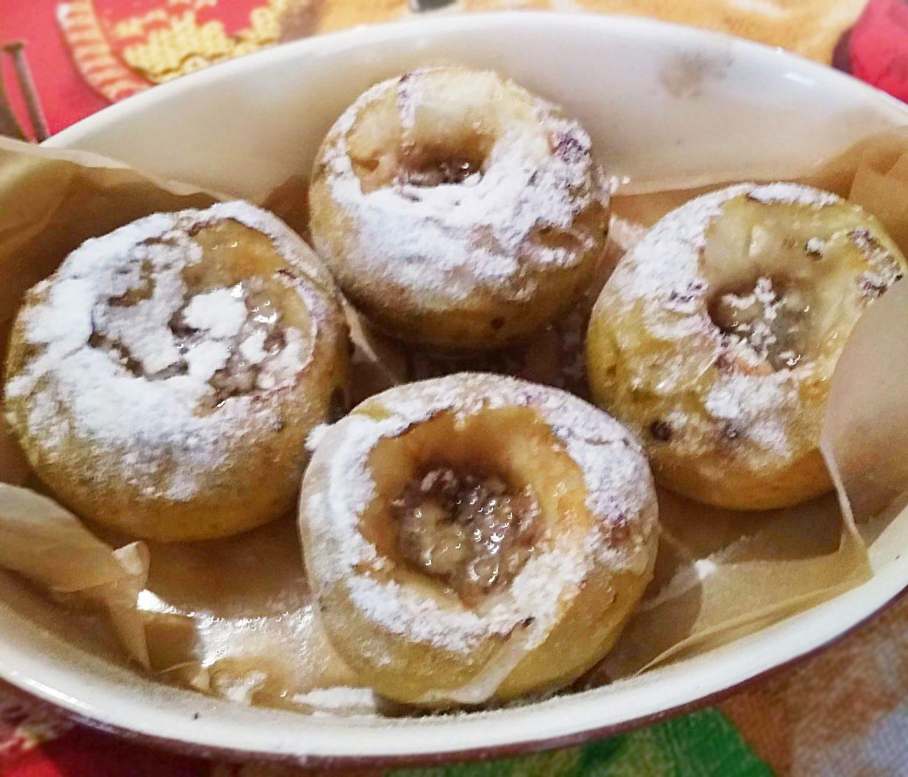 Яблочки, запечённые с мёдом