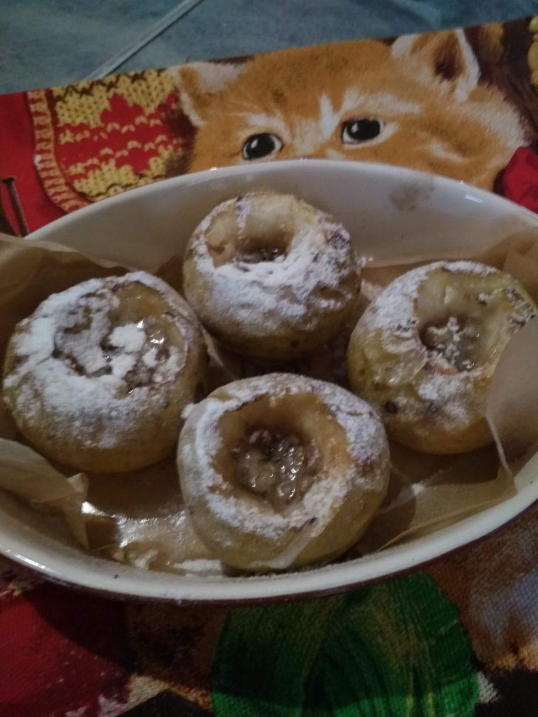 Фото рецепта - Яблочки, запечённые с мёдом - шаг 5