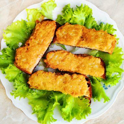 Картофельные драники на хлебе - рецепт с фото