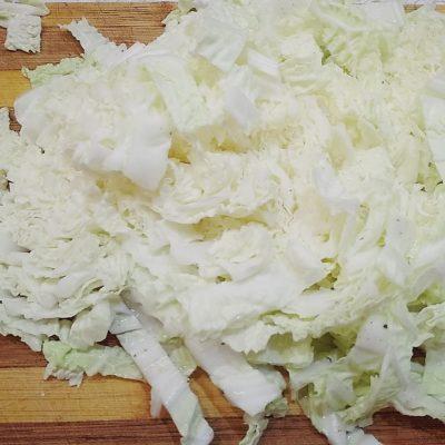 Фото рецепта - Неповторимый тандем слабосоленой горбуши и пекинской капусты - шаг 1