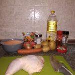 Фото рецепта - Чечевичный суп на курице - шаг 1