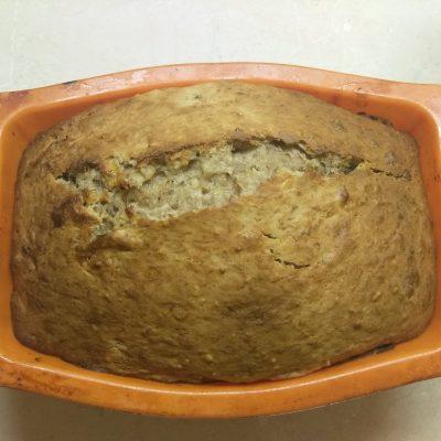 Банановый хлеб с грецкими орехами - рецепт с фото
