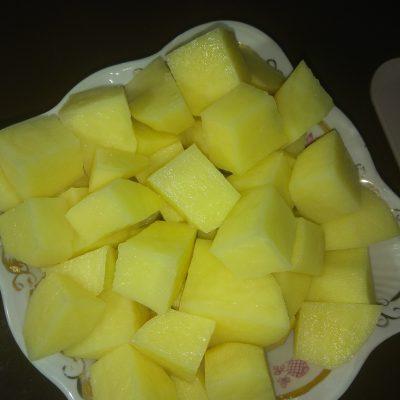 Фото рецепта - Борщ вегетарианский с чесночными гренками - шаг 2