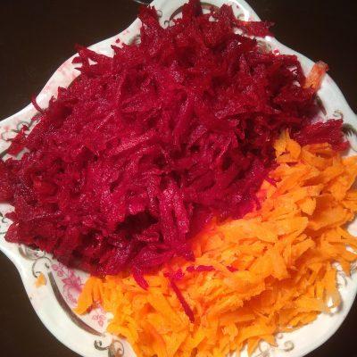 Фото рецепта - Борщ вегетарианский с чесночными гренками - шаг 3