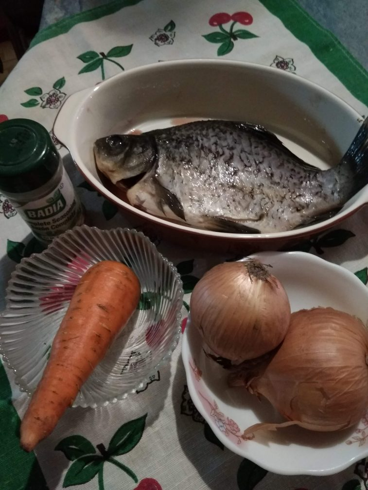 Фото рецепта - Золотистый лещ в духовке с секретиком - шаг 1