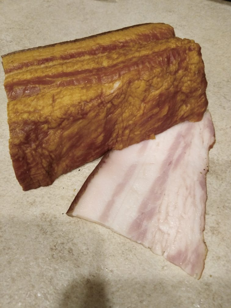Фото рецепта - Картофель, запеченный в беконе (в фольге) - шаг 3
