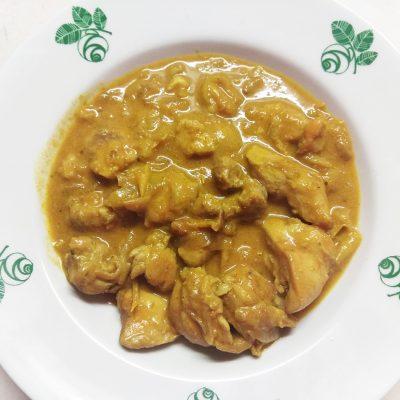 Карри с курицей и болгарским перцем - рецепт с фото