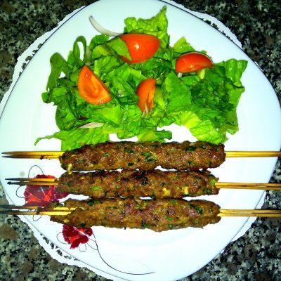 Турецкий шиш из говядины – кёфте по домашнему - рецепт с фото