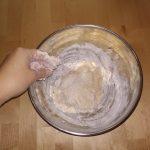 Фото рецепта - Сырный дрожжевой багет на молоке - шаг 4