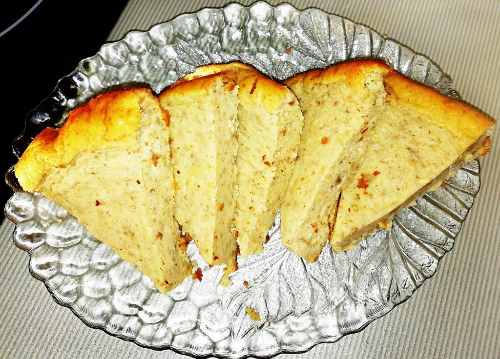 Фото рецепта - Бисквитная творожно-гречневая запеканка в мультиварке - шаг 5