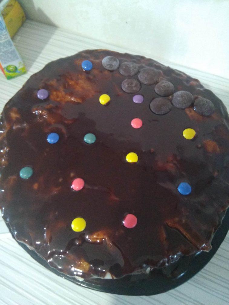 """Фото рецепта - Шоколадный торт """"Спартак"""" - шаг 6"""