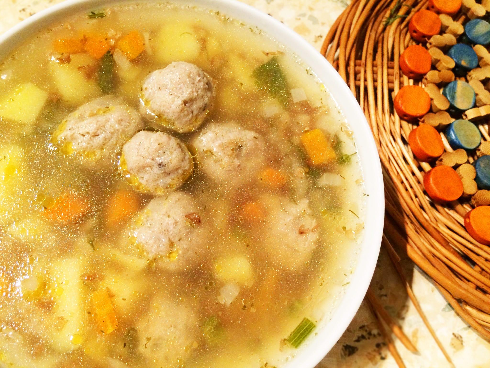 Легкий мясной суп рецепт с фото