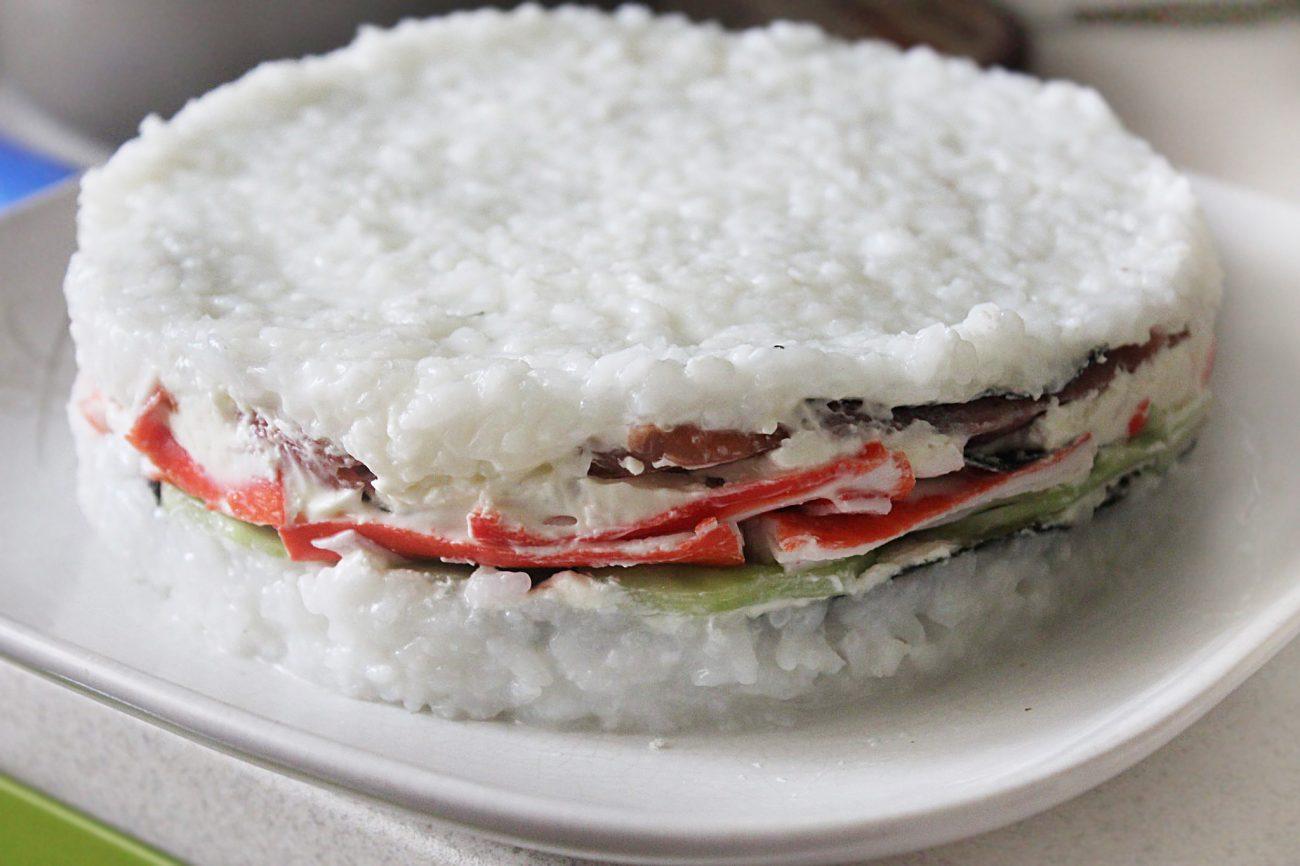 Суши-торт – на вкус как настоящие суши!