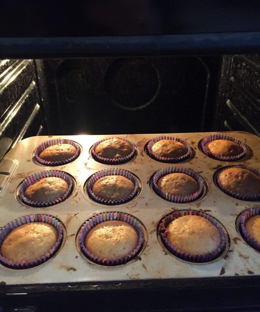 Фото рецепта - Апельсиновые кексы с ароматом ванили - шаг 7