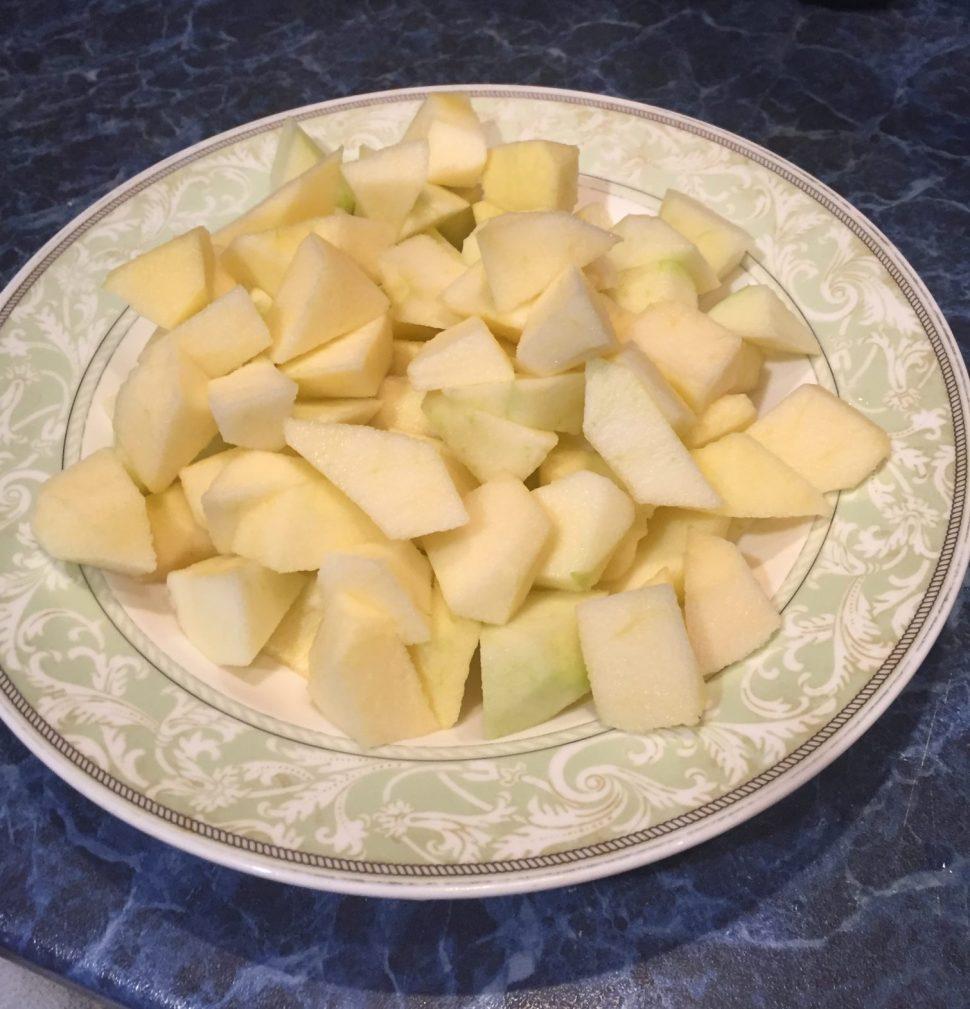 Фото рецепта - Закрытый яблочный пирог - шаг 1