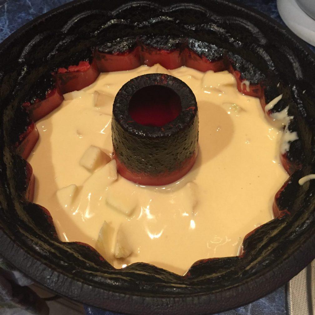 Фото рецепта - Закрытый яблочный пирог - шаг 6