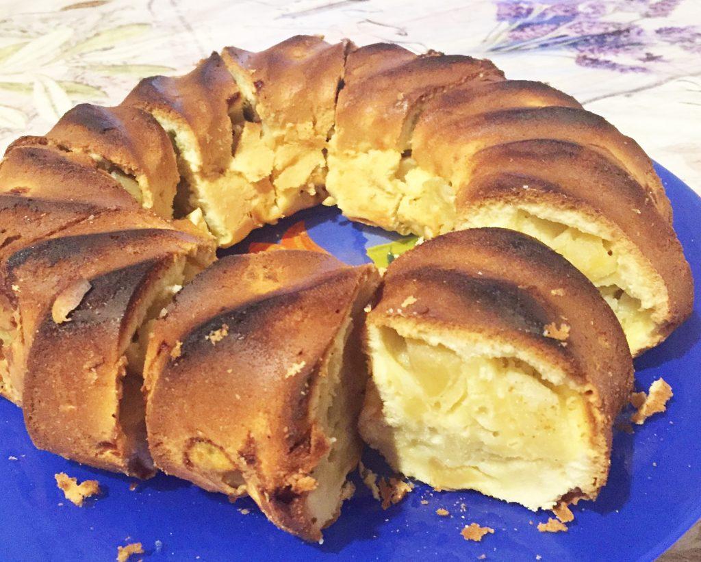Фото рецепта - Закрытый яблочный пирог - шаг 9