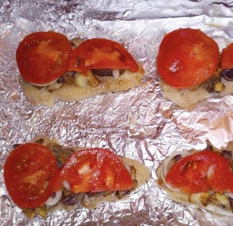 Фото рецепта - Мясо по-французски с томатами - шаг 5