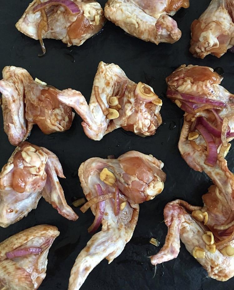 Фото рецепта - Крылышки в соусе терияки - шаг 1