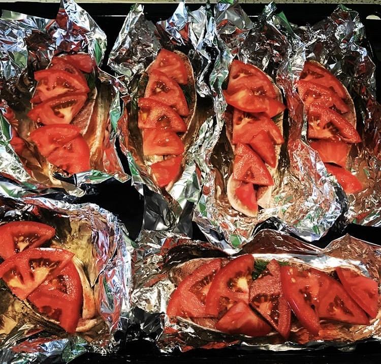 Фото рецепта - Семга с овощами в духовке - шаг 2