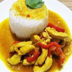 Курица по-тайски со сладким перцем