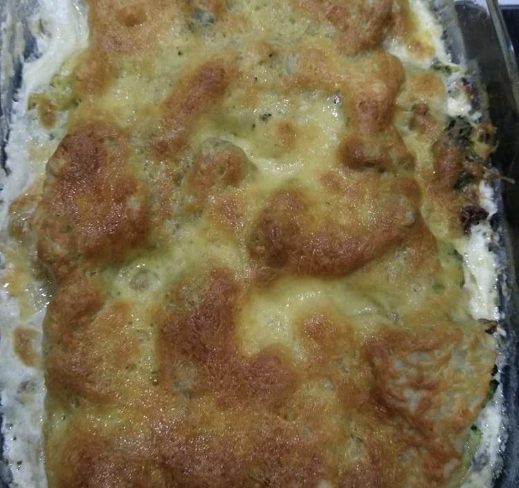 Фото рецепта - Лазанья с фаршем и брокколи - шаг 3
