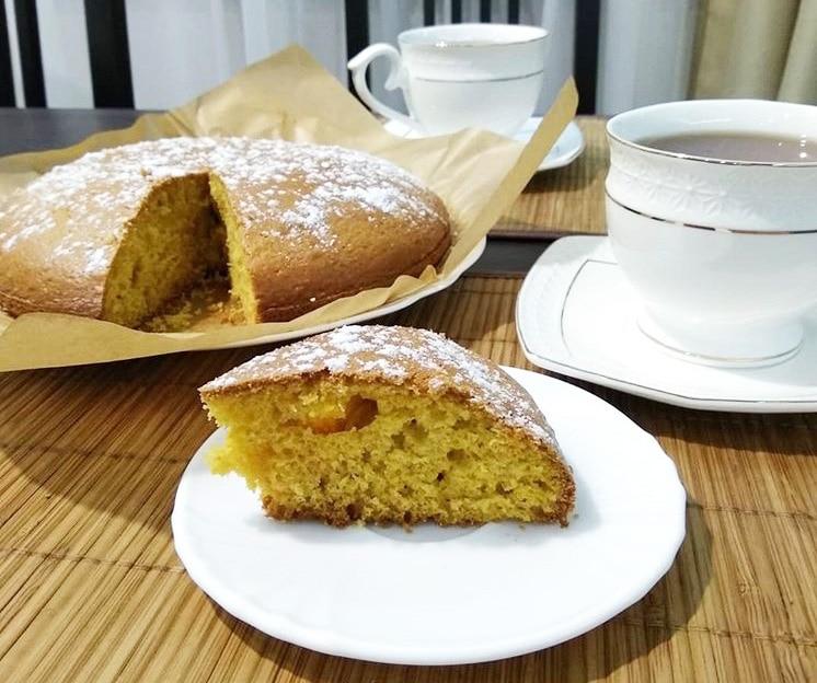 Пышный апельсиновый пирог