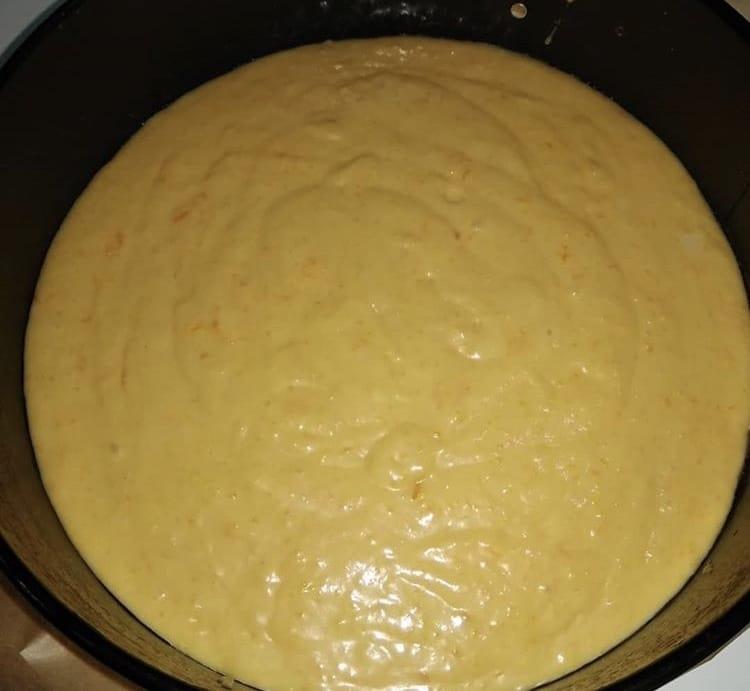 Фото рецепта - Пышный апельсиновый пирог - шаг 1