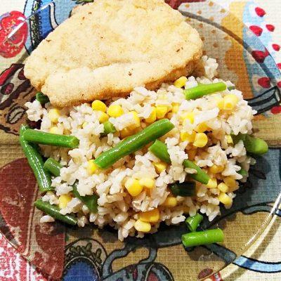Шницель из индейки, обжаренный в манке - рецепт с фото