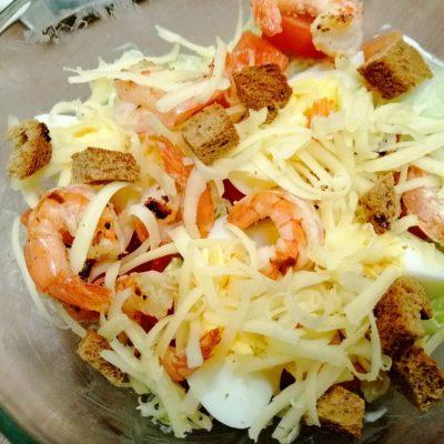 """Салат """"Цезарь"""" по версии правильного питания - рецепт с фото"""
