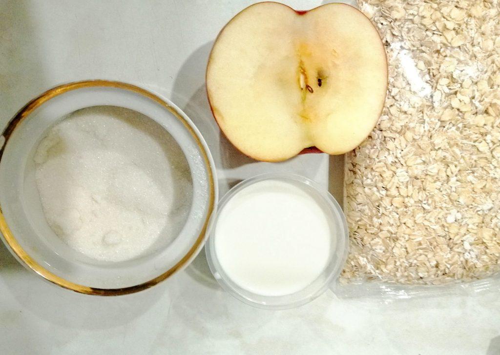 Фото рецепта - Каша геркулесовая с яблоками в мультиварке - шаг 1