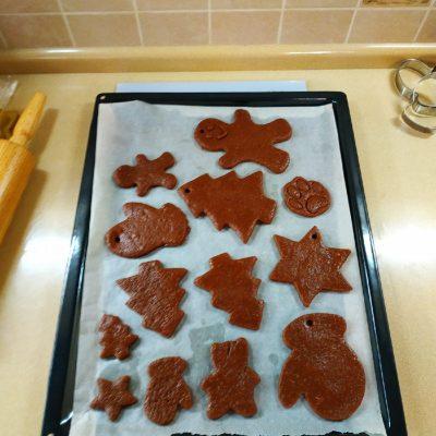 Фото рецепта - Домашние имбирные пряники с глазурью к Новому году - шаг 6