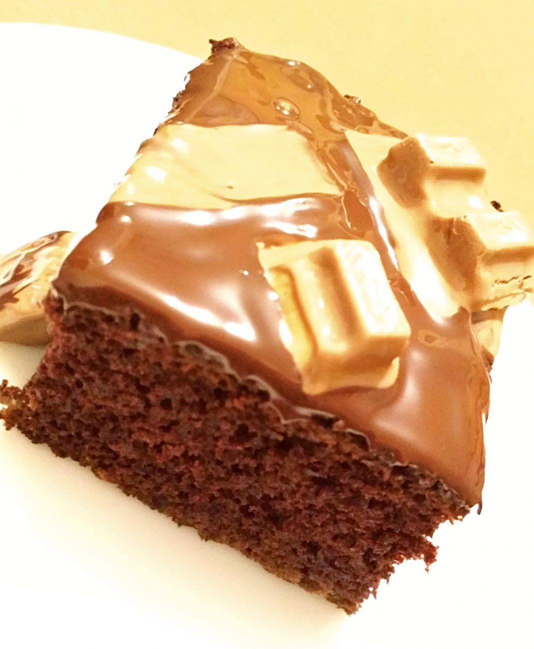 """Шоколадный бисквитный пирог """"Нежность"""""""