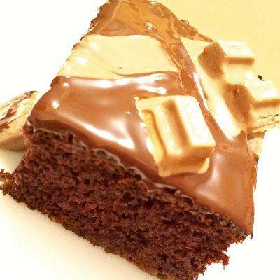 """Шоколадный бисквитный пирог """"Нежность"""" - рецепт с фото"""