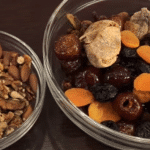 Фото рецепта - Рождественский кекс с сухофруктами и орехами - шаг 1