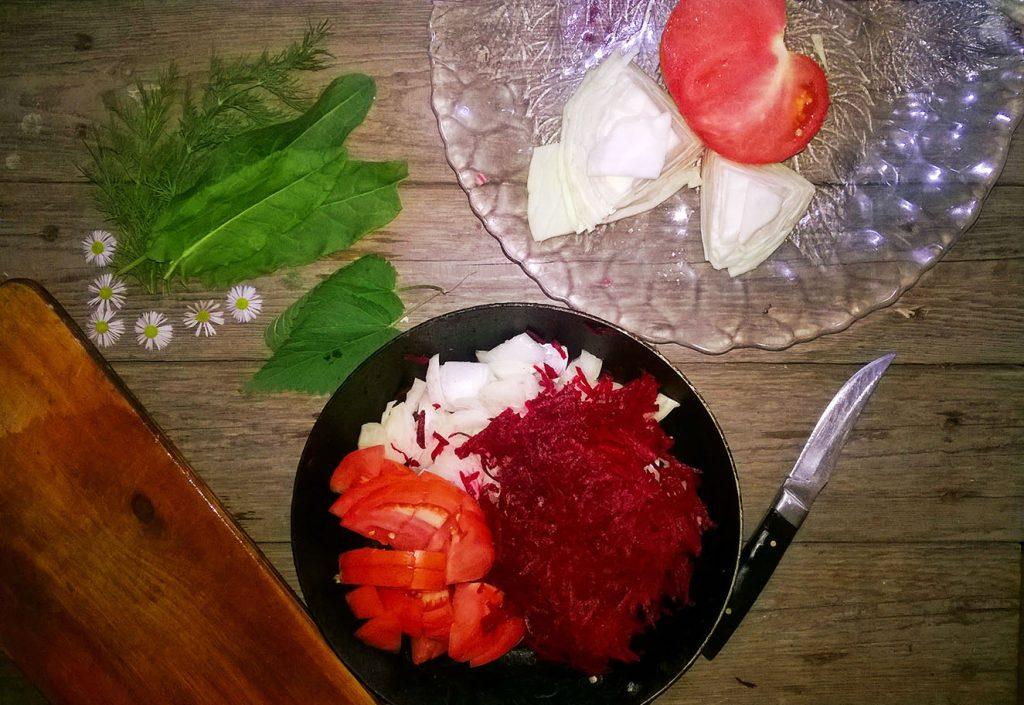 Фото рецепта - Вегетарианский борщ - шаг 3
