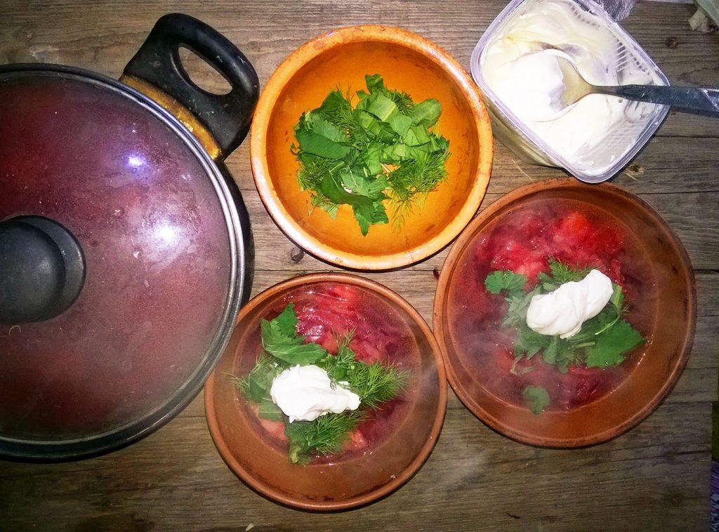 Фото рецепта - Вегетарианский борщ - шаг 4