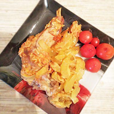 Утка с кабачками по-домашнему, в духовке - рецепт с фото