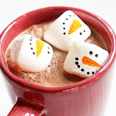 Домашний горячий шоколад - рецепт с фото
