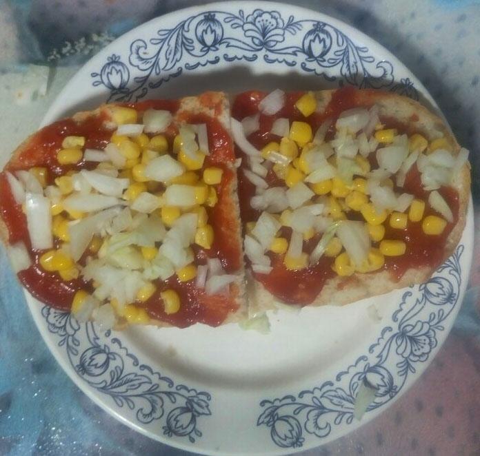 Фото рецепта - Вегетарианские бутерброды с перцем и томатом - шаг 5