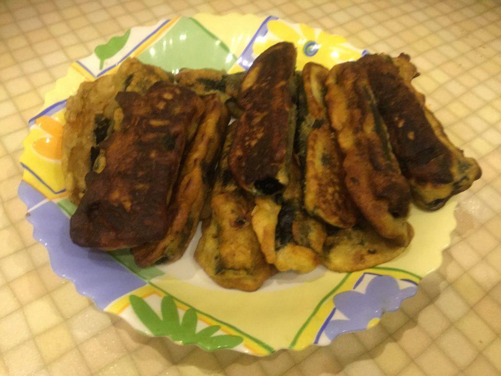 Фото рецепта - Вегетарианские жареные рыбки в кляре - шаг 6
