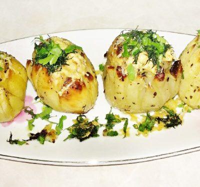 Хрустящая, ароматная картошка на праздничный стол - рецепт с фото