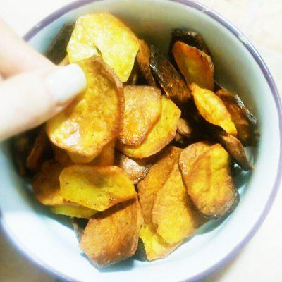 Быстрые домашние картофельные чипсы - рецепт с фото