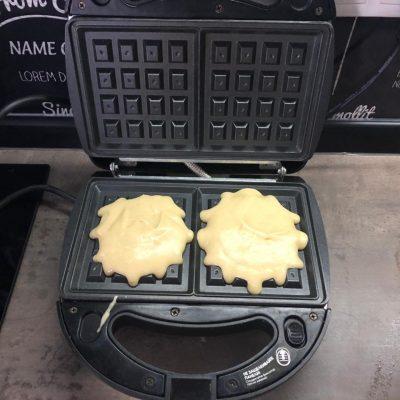 Фото рецепта - Ароматные венские вафли в электровафельнице - шаг 7