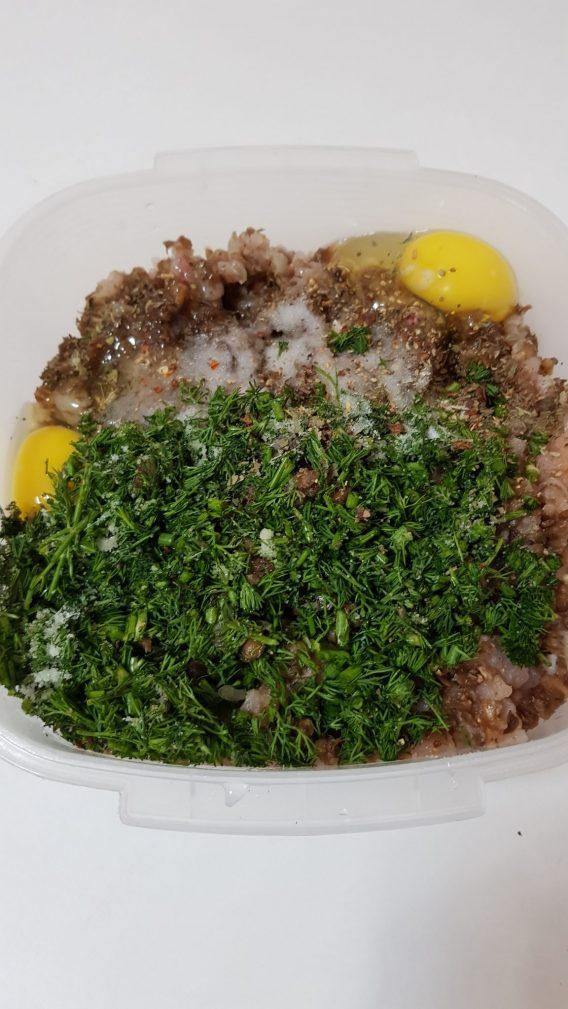 Фото рецепта - Куриные котлеты с грибами - шаг 2