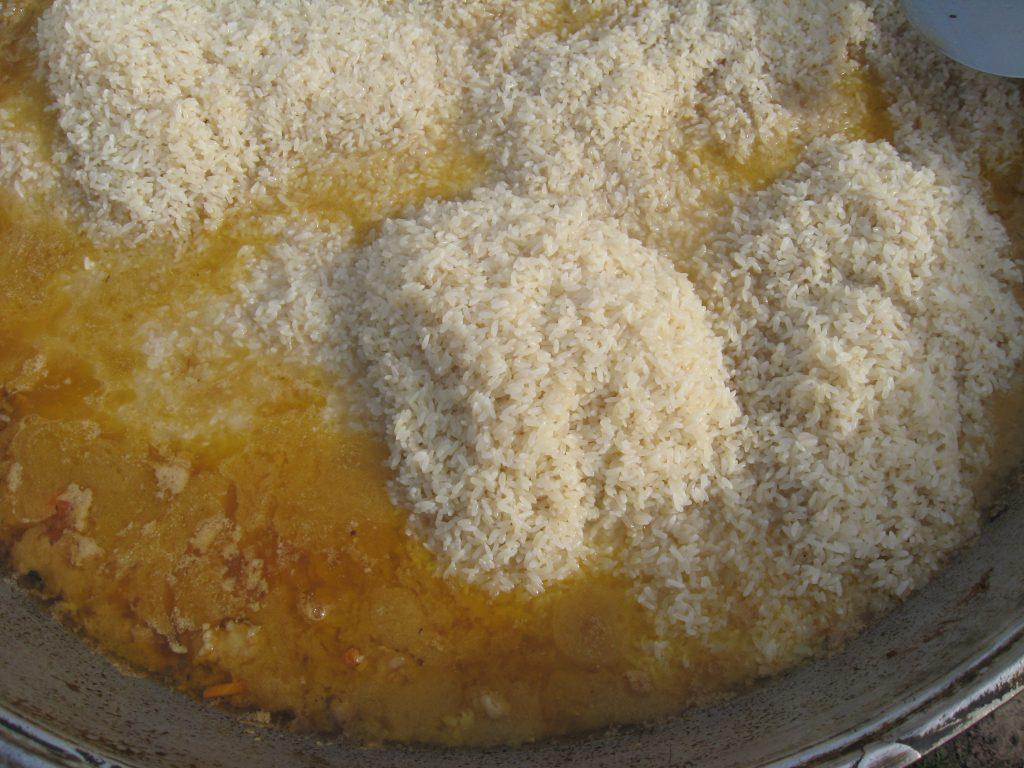 Фото рецепта - Плов по-таджикски, с дымком - шаг 5