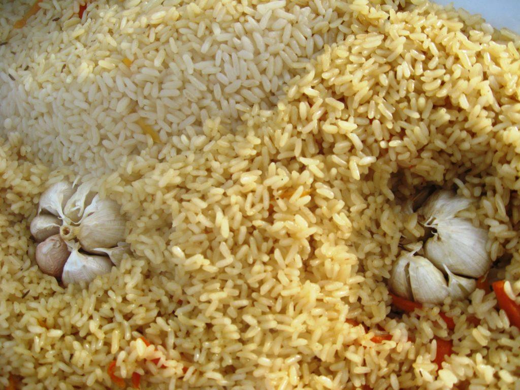 Фото рецепта - Плов по-таджикски, с дымком - шаг 6
