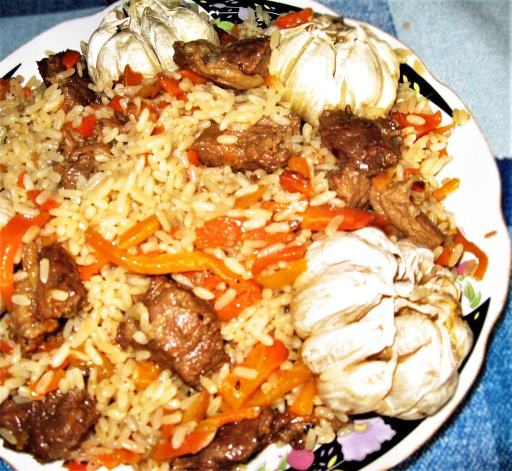 Фото рецепта - Плов по-таджикски, с дымком - шаг 7