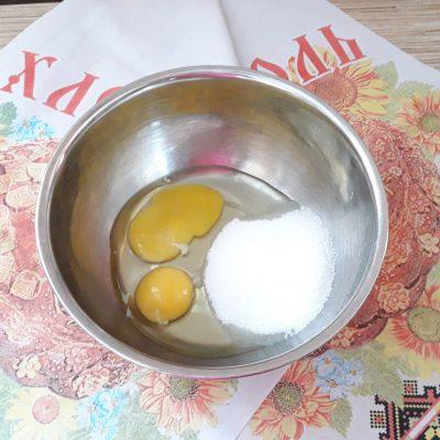 Фото рецепта - Торт Рыжик с заварным кремом - шаг 4